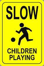 "Slow Children At Play Parking Signs 18""x12"""