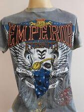 Emperor Eternity One eyed Handkerchief Mask Skull Bandit Men T shirt M EE17-eyed