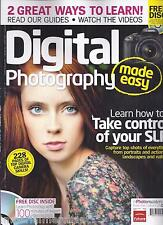 DIGITAL PHOTOGRAPHY MADE EASY MAGAZINE Photo techniques Projects Tutorials CD