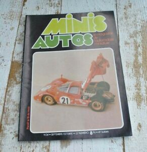 Vintage Minis Auto Magazine issue 34 - Miniature car model - French