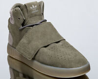adidas Originals Tubular Invader Strap lifestyle sneakers NEW seaweed BB8391