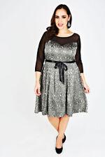 Unbranded Lace Machine Washable Plus Size Dresses for Women