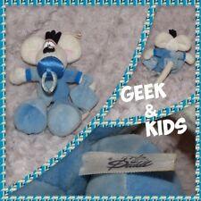 Peluche Diddl Bébé avec tétine, mouchoir et pyjama Bleu - 17cm - Ref C26