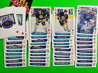 1995-96 Bicycle Sports NHL Aces Playing Cards Lot X 40 Cards No Doubles