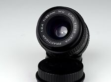 Excellent FLEKTOGON PRAKTICAR 2.4/35 MC CARL ZEISS JENA PB Mount Lens les deux caps