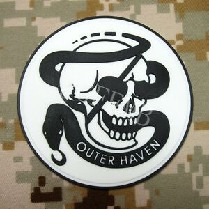 Metal Gear Solid MGS OUTER HAVEN PMC Special Force Group 3D PVC Patch