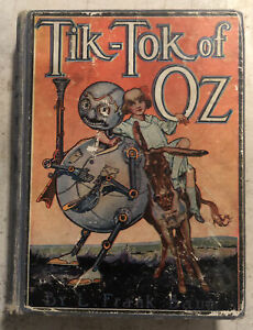 Used Book ~ Tik-Tok Of Oz 1914 Hardcover by L. Frank Baum