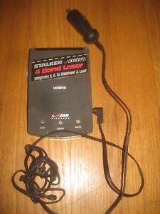 Vintage Uniden Stalker 4 Band LaserSpeed Detectors
