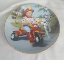 Danbury mint collectable plate.  Thursday's child.