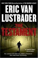 THE TESTAMENT Eric Van Lustbader stated 1st Edition 2006 Espionage Hardcover