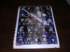 1995 Edge Excalibur Football 22K Stone set Uncut Sheet  Montana  Favre  Marino