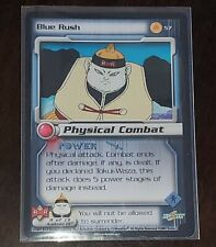 Dragon Ball Z Ccg Blue Rush Card #57 9of13 -Physical Combat Very Good Condition