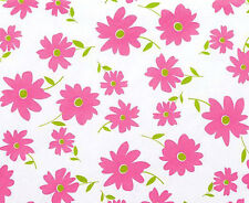 Pretty Pink Daisy Tissue Paper # 303 ~ 10 Large Sheets