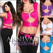 Clubwear Wrap Tops for Women