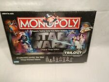 Star Wars Monopoly Original Trilogy Edition Collection New, Factory Sealed