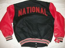 CUBA NATIONALS NEGRO LEAGUE BASEBALL THROWBACK JACKET ..2X-LARGE