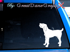 Spinone Italiano -Vinyl Decal Sticker -Color Choice -High Quality