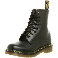 Dr Martens Womens Boots 1460W 8-Eye R11821006 Black Smooth Leather