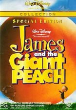 JAMES AND THE GIANT PEACH : NEW DVD