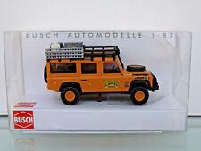 Busch 50371 - H0 1:87 - Land Rover Defender, Camel Trofeo 1989-