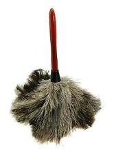 Feather Duster Cleaning Tool Wood Handle Washable Ostrich Feathers 14-15