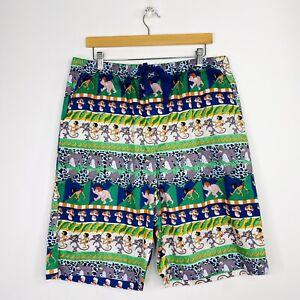 Peter Alexander Mens Jungle Book Sleep Shorts Pyjamas Disney Size XL NWT