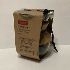 BODUM Pour Over Glass Coffee Maker, 4 Cup, 17fl. oz.  NEW