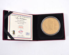 Highland Mint Alex Rodriguez Bronze Coin # out of 5,000