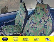 Coprisedili Fiat Panda Van fodere sedile anteriori militare foderina copri set 2