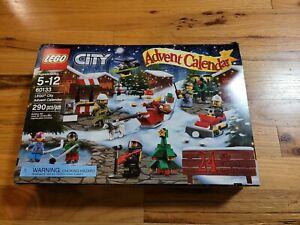 LEGO City Holiday Advent Calendar 2016 (60133) Opened Box