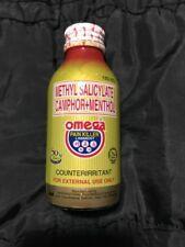 New Latest Stock OMEGA PAIN KILLER Liniment Menthol Large 120ml Fast USA Seller!