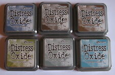 Ranger Tim Holtz Distress Oxide Ink Pad - Lot of 6 Ink Pads - New.