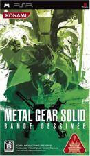 UsedGame PSP Metal Gear Solid Bande Dessinee [Japan Import] FreeShipping