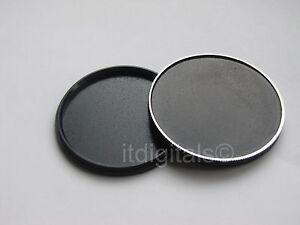 24mm Metal Screw-in Stack Cap Protect Store Filter Case One Piece U&S Aluminum
