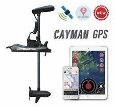 "HASWING Cayman GPS12V 55LB 54"" Shaft TROLLING MOTOR Rocord route, Anchor lock"
