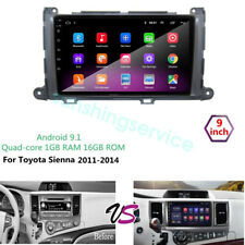 Android 9.1 for Toyota Sienna 2011-2014 Car DVD Radio GPS Navigation Wifi Player