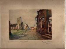 estampes  bussiere seine et marne 1914 - 1916 WWI