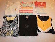 LOT de 6 vêtements HAUT / TOP Fille 16 ans / Taille M 164cm Tee-shirt / Maillot