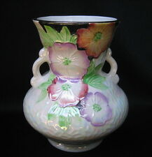 Price Kensington Made in England Pottery Vase with Flowers