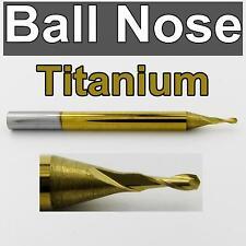 "1.00mm .0394"" < Ball Nose > Carbide End Mill <Titanium Coated> CNC m140"