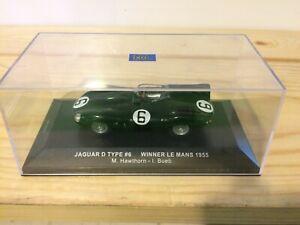 Jaguar D-type Le Mans 1955 Winner 1/43