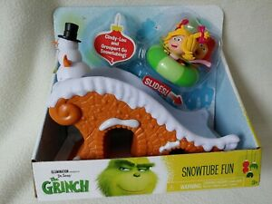 The Grinch Movie Snowtube Fun Feature Action Toy Cindy-Lou Groopert