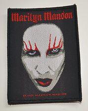 Marilyn Manson-Face-patch - 10 CM x 7,3 cm - 164076