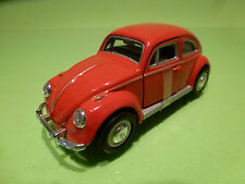 HONGWELL VW VOLKSWAGEN KAFER BEETLE - RED 1:43 - EXCELLENT