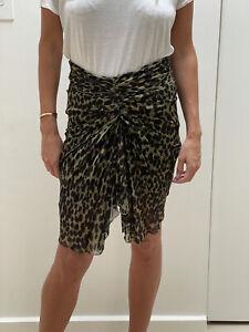 Isabel Marant Leopard Print Skirt