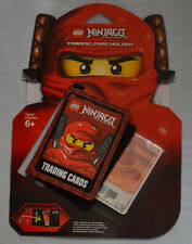 LEGO 853114 Ninjago Trading Cards (Red/Fire) Holder/Wallet with Kai card