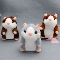 Cute Talking Nod Hamster Mouse Record Chat Pet Plush Toy Children Gift Fashion