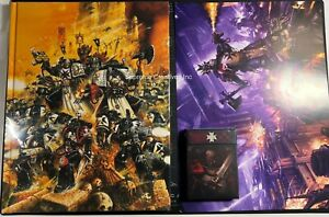 BLACK TEMPLARS CODEX AND DATA CARDS NEW WARHAMMER 40K SPACE MARINE BOOK LIMITED