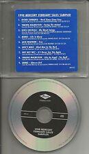 PROMO CD w/ RICHIE SAMBORA Elvis Costello YNGWIE MALMSTEEN Gov't Mule bon Jovi