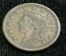 1838 U.S. Large Cent F-Vf